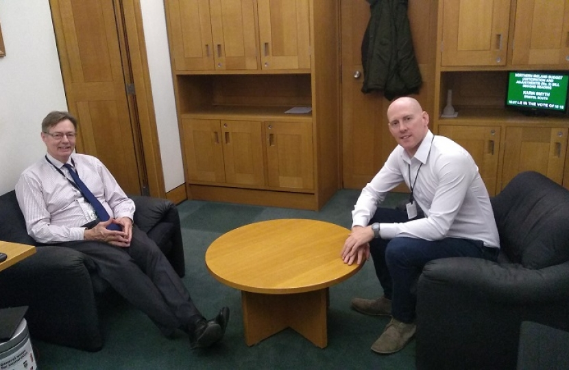 Meeting with Gary Streeter MP